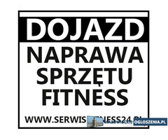 SERWIS sprzętu FITNESS / NAPRAWA ROWERÓW STACJONARNYCH,ORBITREKI,KARDIO,ERGOMETRY